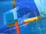 Acrylplatte - 40x20 cm  - Rom Tiberbrücken