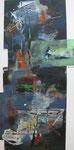 Acryl - Rahmen 90x50 cm - Landschaft