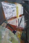 Acryl - Rahmen 70 x 50 cm - Abstrakt