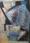 Acryl - Rahmen - 80 x 60 cm - Abstrakt