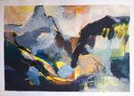 Acryl - Rahmen - 60x80 cm - Matterhorn1