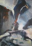 Leinwand-Acryl - 70x50 cm - Landschaft 2