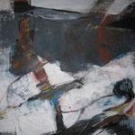 Leinwand-Acryl - 60x60 cm  - Körper - Tryptichon2