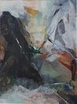 Acryl - Rahmen 60x50 cm - Schlucht