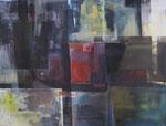 Leinwand-Acryl - 80 x 60 cm