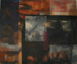 Leinwand-Acryl - 60x50 cm