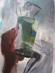 Acryl-Collage - Rahmen 50 x 30 cm - Körper 1