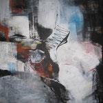 Leinwand-Acryl - 60x60cm - Körper - Tryptichon1