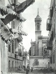 Tower of the Chapel, Jesuit College, Cairo where Teilhard taught Physics and Chemistry from 1905 to 1908.