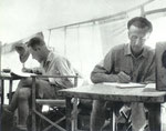 August, 1931, Urumchi camp. Lt. Commander Point and Teilhard
