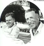 Helmut de Terra and Teilhard in Java, 1938
