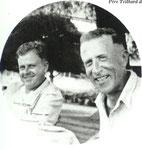 Helmut de Terra and Teilhard in Java, 1938
