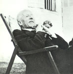 Teilhard at Sarcenat, his birthplace.