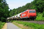 RheinCargo 145-CL 012 bei Leinetal-Erzhausen/D