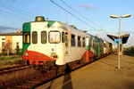 668 013 in Sermide, FER Ferrovie Emilia Romagna