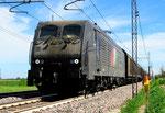 189 400 in Fiorenzuola d'Arda, CFI Compagnia Ferroviaria Italiana