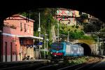 464 102 in Zoagli, Trenitalia