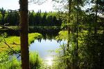 Übernachtungsplatz in Südschweden