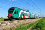 350 005 in Fiorenzuola d'Arda, FER Ferrovie Emilia Romagna