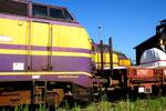 Baureihe 1800 Dieselloks der Luxemburgischen Staatsbahnen (CFL) in Padborg/DK