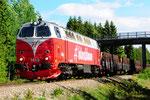 TMZ 1413 der Inlandsbanan bei Östersund/S