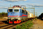 Green Cargo Rc4 1145 durchfährt Ripats/S