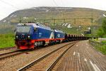 IORE 113 der Erzbahn in Bjorkliden/S