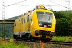 DB 711 101 Instandhaltungsfahrzeug für Oberleitungsanlagen, bei Gemünden/D
