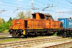 145 013 in Rubiera, FER Ferrovie Emilia Romagna