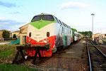 220 041 in Sermide, FER Ferrovie Emilia Romagna