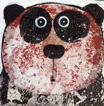 Panda II 8''x8'' on canvas