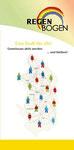 Flyer mit Infografik_Netze spannen_ für Regenbogen e.V. Duisburg