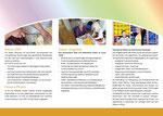 Flyer/Folder für einen Verein in Duisburg, Layout Werbeagentur Moers