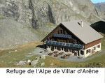 Refuge de l'Alpe de Villar d'Arêne