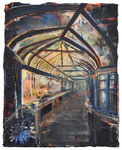 Zimt & Nelken 2019 Öl und Acryl auf Leinwand 30 x 24 cm