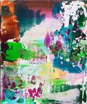 AUSBLICK (1), 2012, Acryl auf Leinwand, 30 x 24 cm