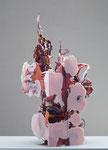 Heringa/Van Kalsbeek, UNTITLED, 2012, Keramik, Harz, Stahl, Stoff, 70 x 36 x 33 cm