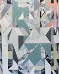 UNREMITTING, 2017, Öl auf Leinwand, 190 x 155 cm