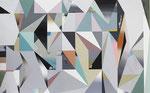 PRISMAP, 2017, Öl und Acryl auf Leinwand, 150 x 240 cm