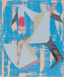 NGOMA, 2015, Öl auf Leinwand, 60 x 50 cm