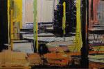 VIBRANT NIGHT, 2013, Öl auf Leinwand, 135 x 200 cm