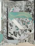 TREATISE, 2016, Öl auf Glas, 40 x 30 cm