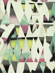 VAPORFIELD, 2017, Öl auf Glas auf MDF, 40 x 30 cm