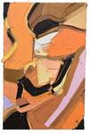 OCCUPY, 2018, Öl auf Leinwand, 75 x 45 cm