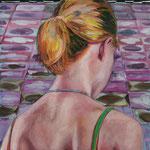 ZOE, 2011, Acryl auf Leinwand, 130 x 130 cm