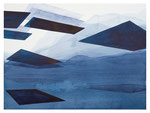 O. T. (landschaft), 2016, Tusche auf Papier, 42 x 56 cm