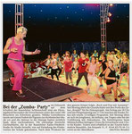 "Bei der ""Zumba Party"" (WNZ) 05.06.2014"