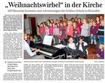 """22.12.2011 """"Weihnachtswirbel"""" in der Kirche (WNZ)"""