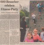 23.06.2010 600 Besucher erleben Fitness-Party (WNZ)