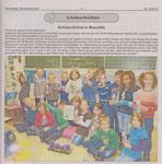Klasse 2a gewinnt Fotowettbewerb Dezember 2013 (Braunfelser Stadtnachrichten)